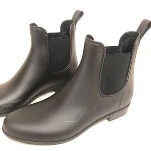 Sam Edelman black ankle rain boots